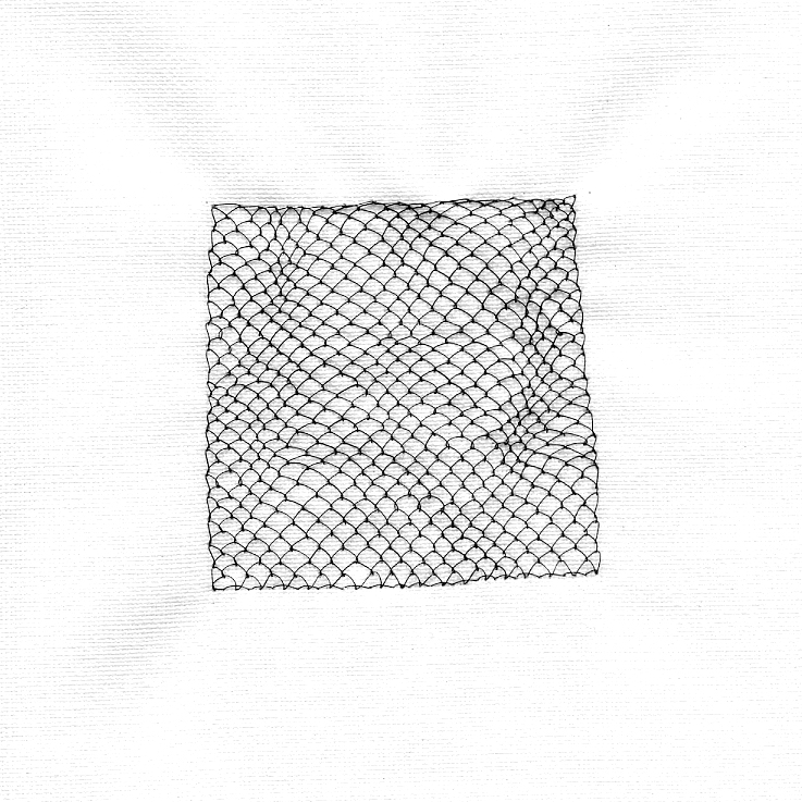 Untitled (Dragon scale stitch)